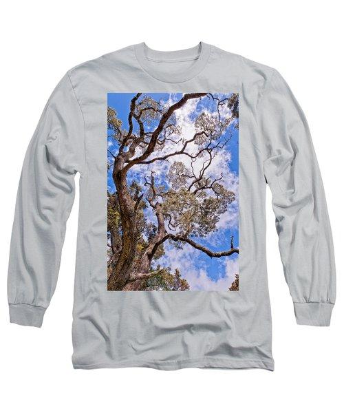 Hawaiian Sky Long Sleeve T-Shirt by Jim Thompson