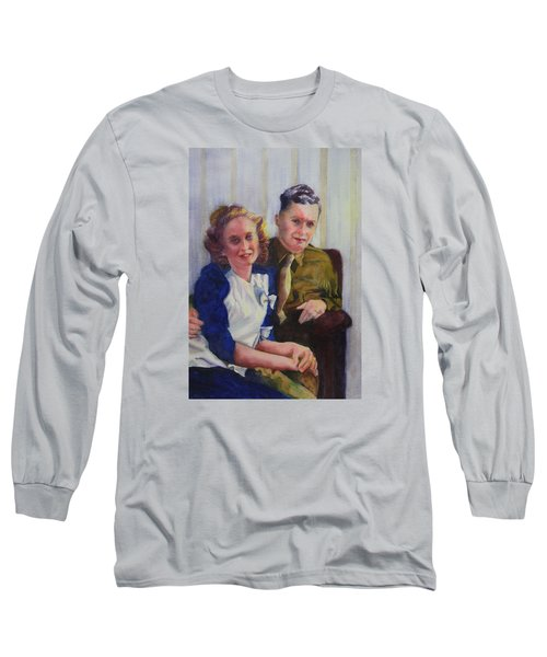 He Touched Me Long Sleeve T-Shirt