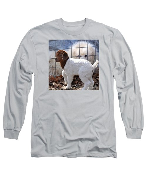 He Watches Over Me Long Sleeve T-Shirt by Nava Thompson