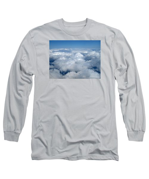 Head In The Clouds Art Prints Long Sleeve T-Shirt by Valerie Garner