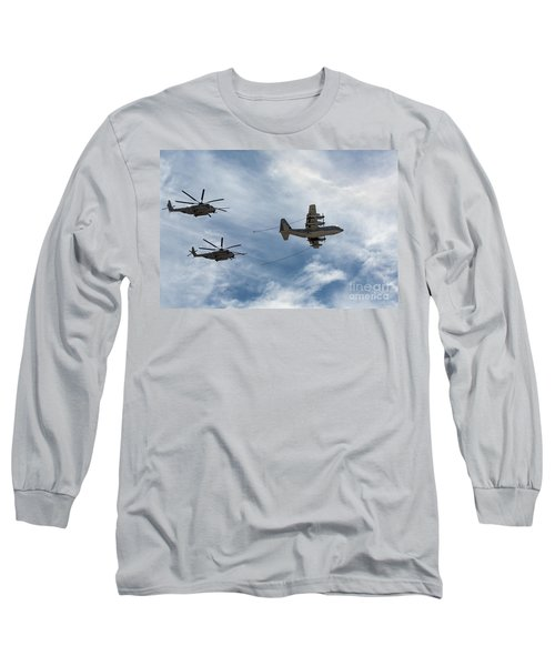 Hercules And Sea Stallions Long Sleeve T-Shirt