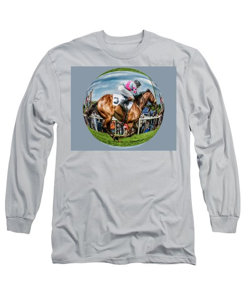Here We Go Round In Circles Long Sleeve T-Shirt