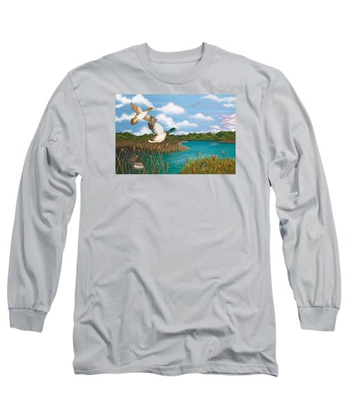 Hiding Out Long Sleeve T-Shirt by Katherine Young-Beck