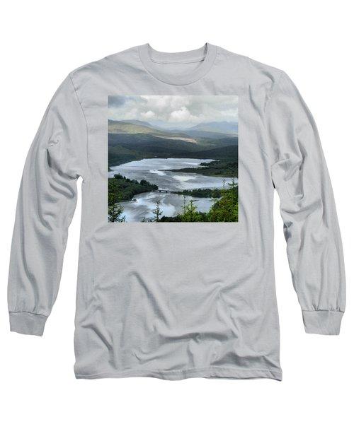 Highland Loch At Lochaber Long Sleeve T-Shirt