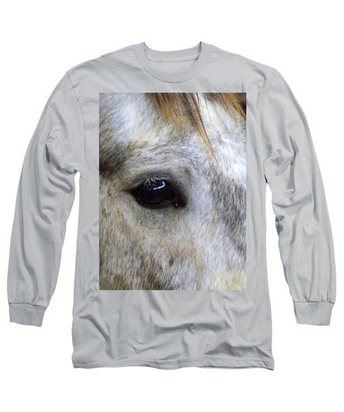 Long Sleeve T-Shirt featuring the photograph His Spirit Was Stolen by John Glass
