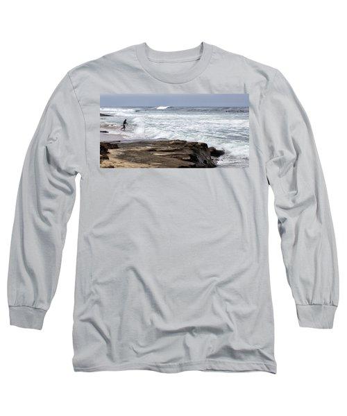 Hittin The Breakers Long Sleeve T-Shirt
