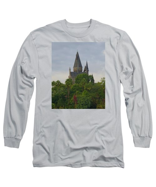 Hogwarts Castle 1 Long Sleeve T-Shirt by Kathy Long
