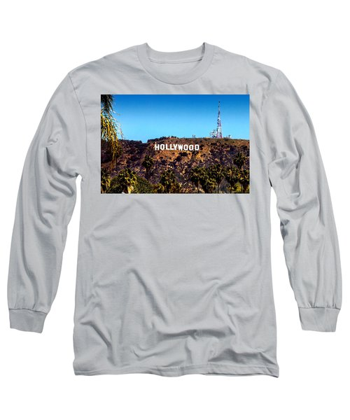 Hollywood Sign Long Sleeve T-Shirt