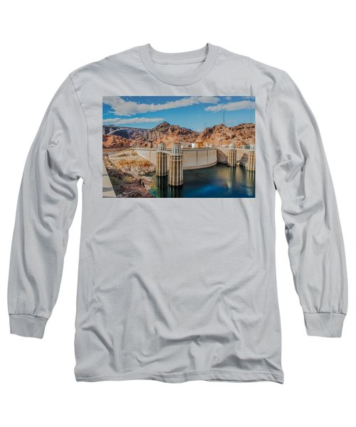 Hoover Dam Reservoir Long Sleeve T-Shirt