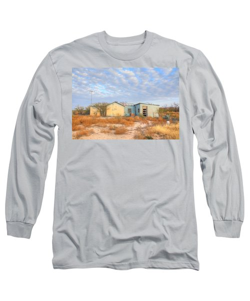 Long Sleeve T-Shirt featuring the photograph House In Ft. Stockton Iv by Lanita Williams