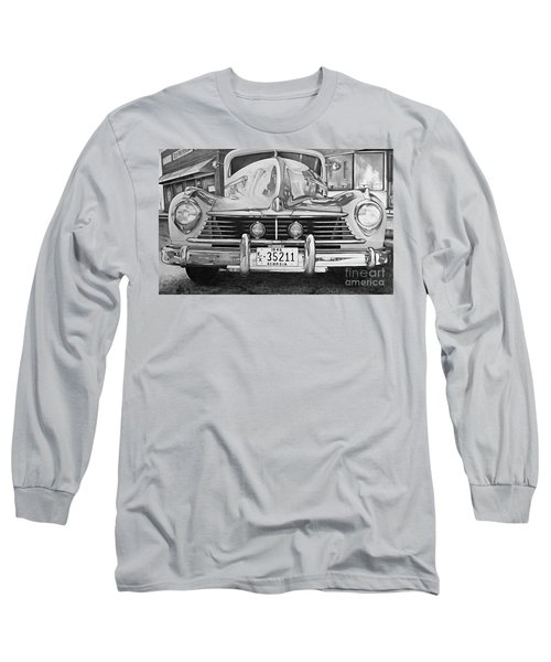Hudson Dreams In Black And White Long Sleeve T-Shirt