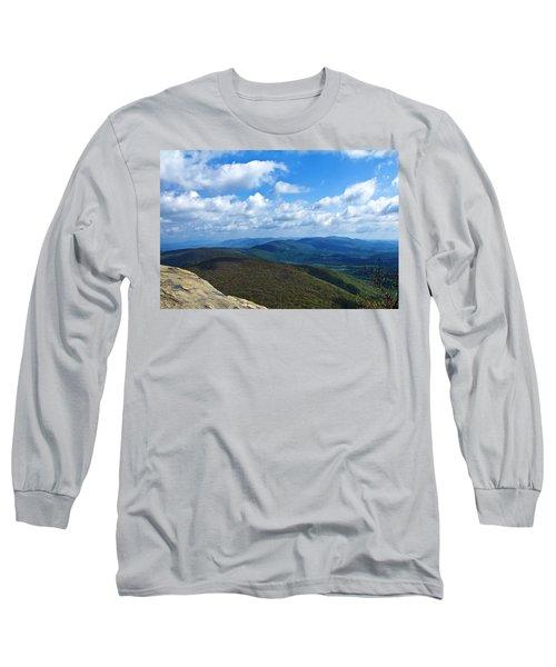 Humpback Rocks View North Long Sleeve T-Shirt