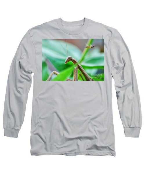 Long Sleeve T-Shirt featuring the photograph I See You by Thomas Woolworth