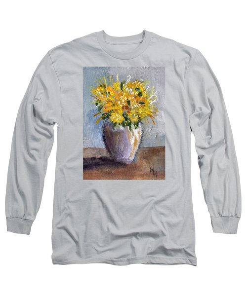I Think Of Spring Long Sleeve T-Shirt by Michael Helfen