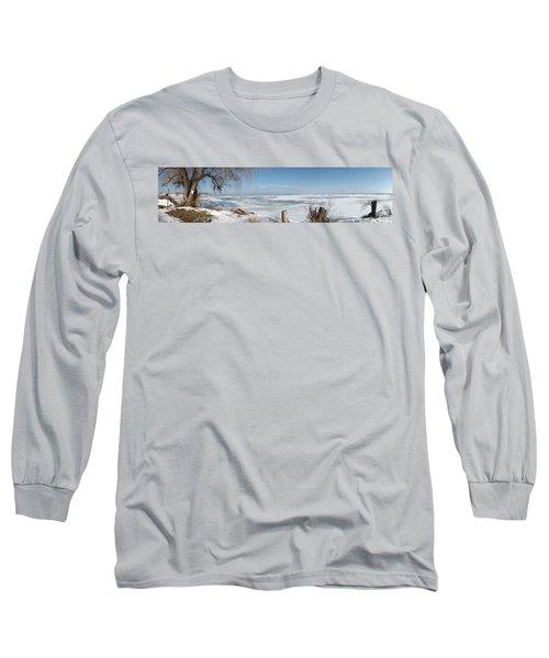 Ice Fishing Long Sleeve T-Shirt