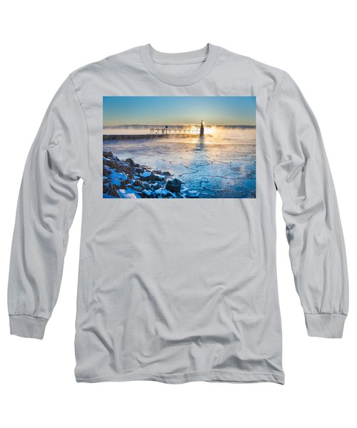 Icy Morning Mist Long Sleeve T-Shirt
