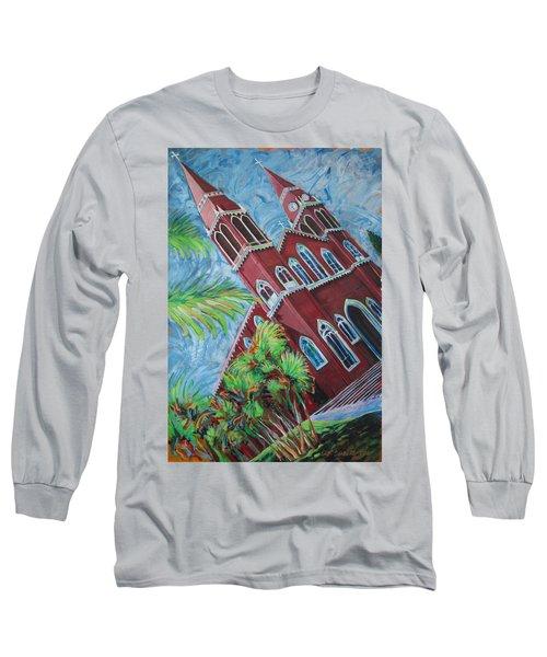 Iglesia Grecia  Costa Rica Long Sleeve T-Shirt