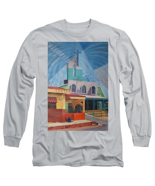 Iglesia San Rafael  Costa Rica Long Sleeve T-Shirt