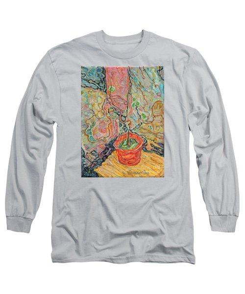 Ikebana Long Sleeve T-Shirt by Anna Yurasovsky