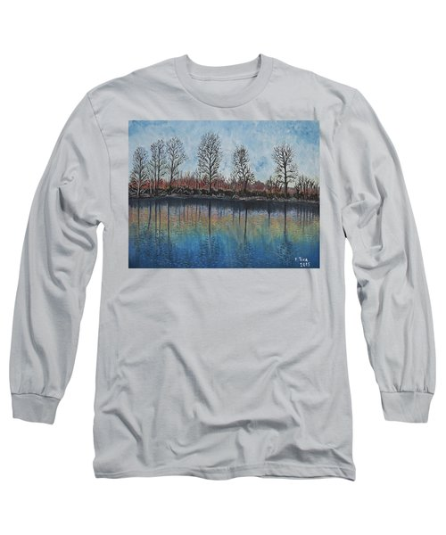 Impressions  Long Sleeve T-Shirt by Felicia Tica