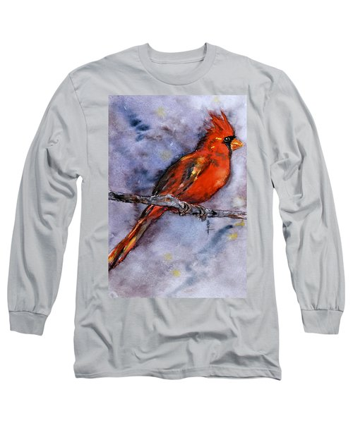 Long Sleeve T-Shirt featuring the painting In The Moment by Beverley Harper Tinsley