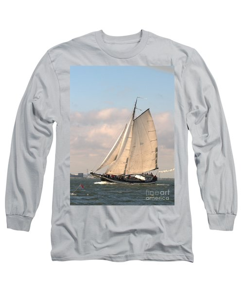 Long Sleeve T-Shirt featuring the photograph In The Race by Luc Van de Steeg