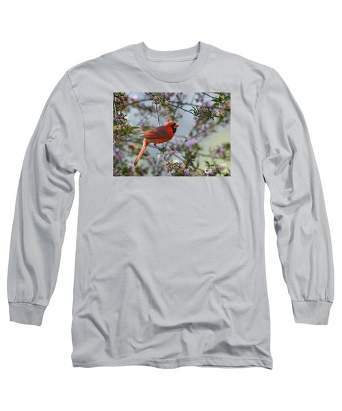 In The Spring Long Sleeve T-Shirt by Nava Thompson