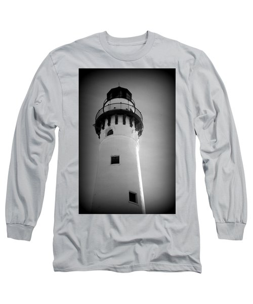 In The Village Of Wind Point Long Sleeve T-Shirt by Kay Novy