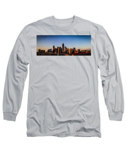 Indianapolis Skyline - South Long Sleeve T-Shirt