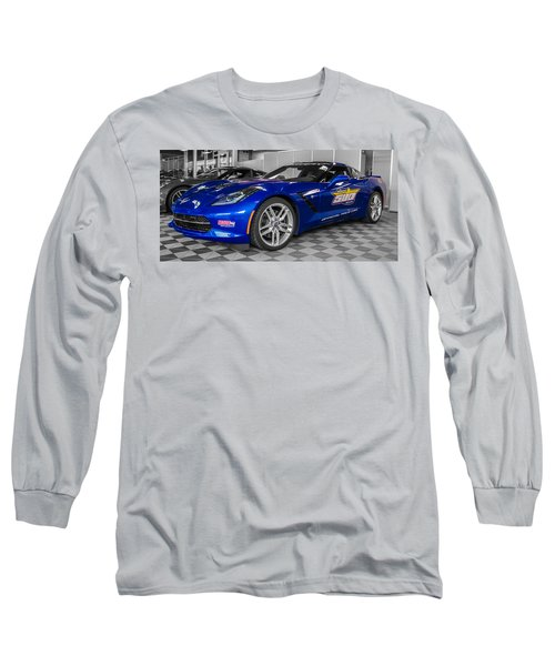 Indy 500 Corvette Pace Car Long Sleeve T-Shirt