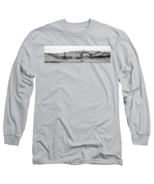Inis Oirr Cemetery Long Sleeve T-Shirt