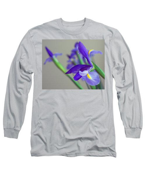 Long Sleeve T-Shirt featuring the photograph Iris by Lisa Phillips