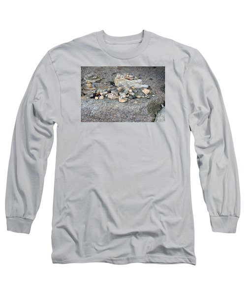 Long Sleeve T-Shirt featuring the photograph Ishi by Cassandra Buckley