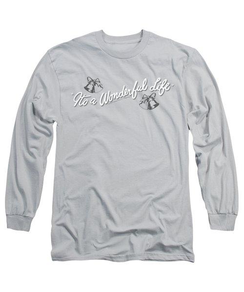 It's A Wonderful Life - Logo Long Sleeve T-Shirt