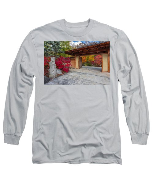 Long Sleeve T-Shirt featuring the photograph Japanese Main Gate by Sebastian Musial