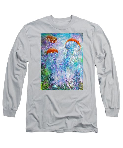 Jellies Long Sleeve T-Shirt by Janet Immordino