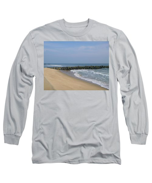 Jetty In Winter Long Sleeve T-Shirt