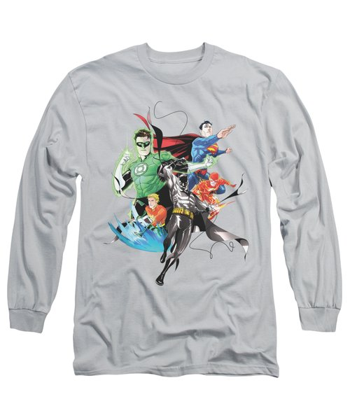 Jla - Mashup Long Sleeve T-Shirt