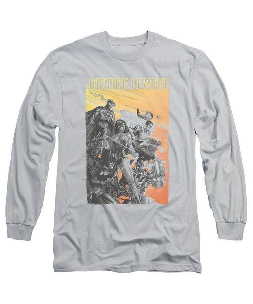 Jla - Red Dawn Long Sleeve T-Shirt