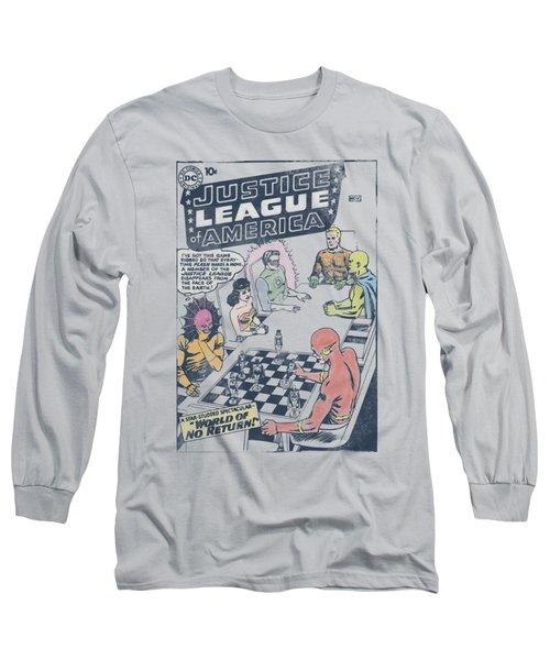 Jla - World Of No Return Long Sleeve T-Shirt