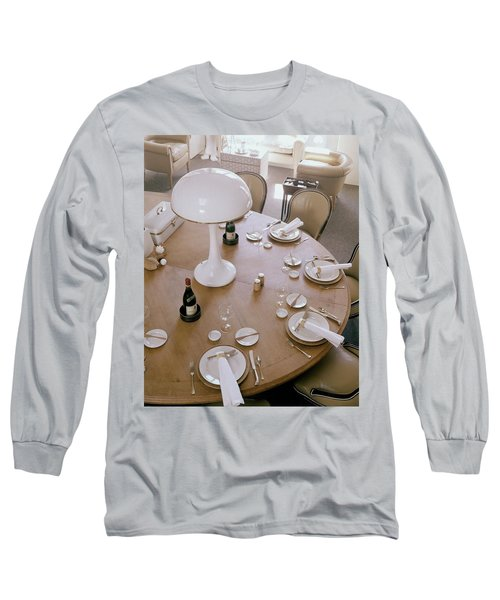 John Dickinson's Dining Table Long Sleeve T-Shirt