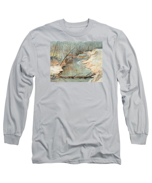 Just Resting Long Sleeve T-Shirt by Lee Beuther