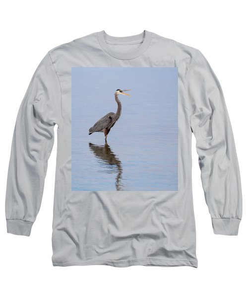 Long Sleeve T-Shirt featuring the photograph Just Saying Howdy by John M Bailey