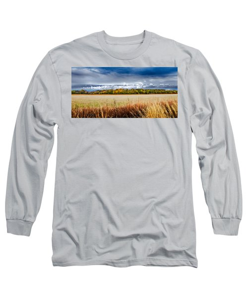 Kansas Fall Landscape Long Sleeve T-Shirt