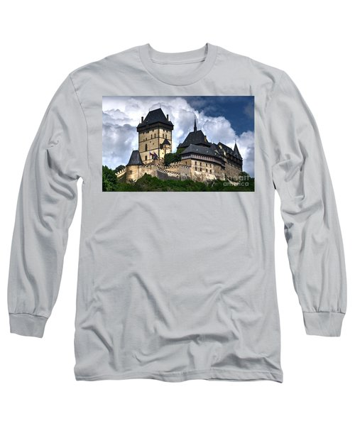 Long Sleeve T-Shirt featuring the photograph Karlstejn Castle In Prague 2 by Joe  Ng