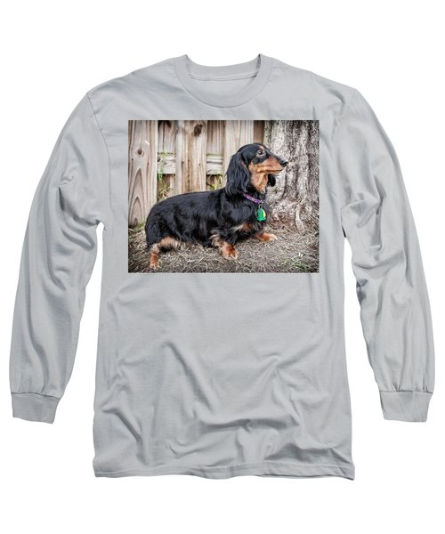 Katie Long Sleeve T-Shirt by Jim Thompson