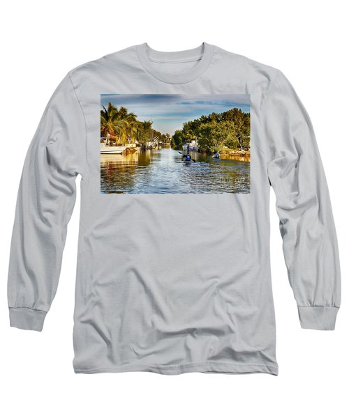 Kayaking The Canals Long Sleeve T-Shirt