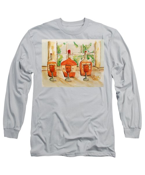 Kentucky Bourbon Sampler Long Sleeve T-Shirt