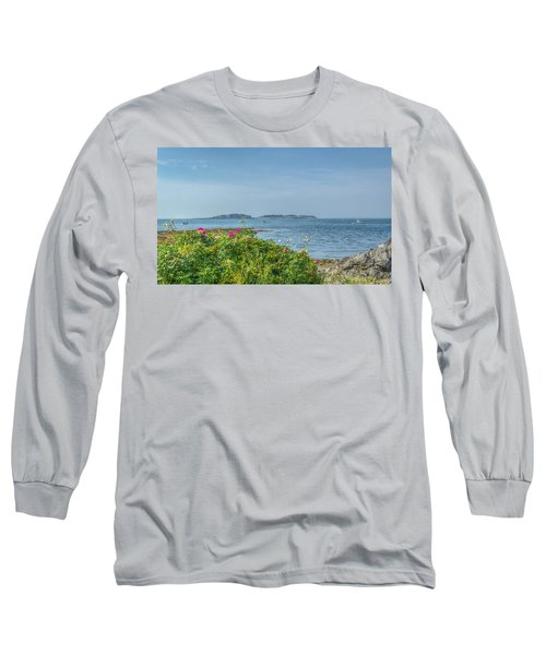 Long Sleeve T-Shirt featuring the photograph Kettle Cove by Jane Luxton