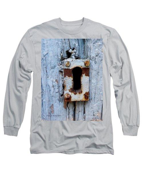 Keyhole Long Sleeve T-Shirt